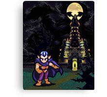 Magus Castle w/Magus Canvas Print