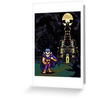 Magus Castle w/Magus Greeting Card