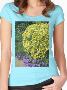 A Pretty Corner of an English Country Garden Women's Fitted Scoop T-Shirt
