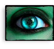 In A Witches Eye Canvas Print