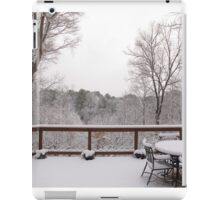 Peaceful snow scene iPad Case/Skin