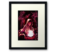 The Fortune Tellers Daughter Framed Print
