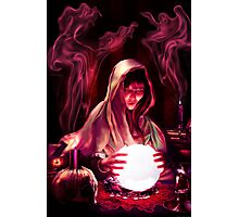 The Fortune Tellers Daughter Photographic Print