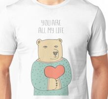 Bear in love Unisex T-Shirt