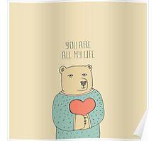 Bear in love Poster