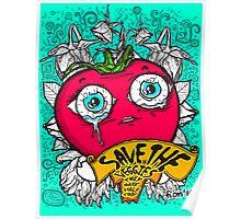 Save The Veggies - Tomato Poster