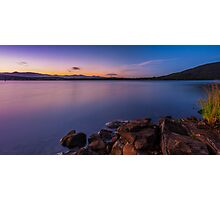 Serenity By The Lake Photographic Print