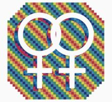 Gay Female symbol - Your Choice only by matt lloyd