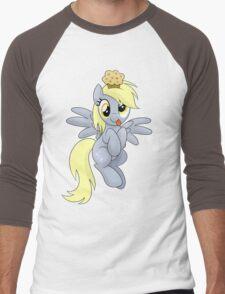 Derpy Muffins Shirt (My Little Pony: Friendship is Magic) Men's Baseball ¾ T-Shirt