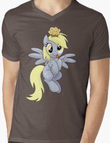 Derpy Muffins Shirt (My Little Pony: Friendship is Magic) Mens V-Neck T-Shirt