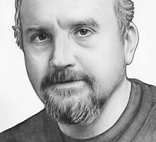 Louis CK Portrait by OlechkaDesign