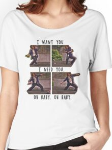 I Want You. I Need You.  Women's Relaxed Fit T-Shirt