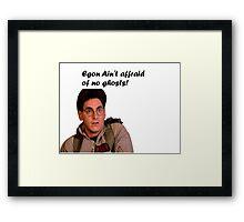 Ghostbusters Egon  Framed Print