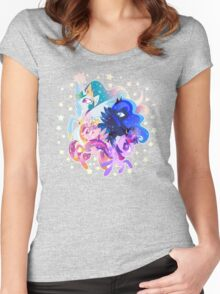 Princess party Women's Fitted Scoop T-Shirt