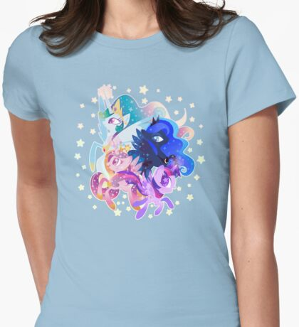 Princess party Womens Fitted T-Shirt