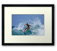 The Girls Are Surfing Snapper #1 Framed Print