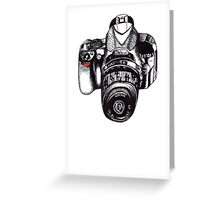 The Mighty Nikon Greeting Card