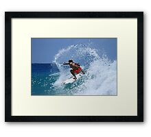 The Girls Are Surfing Snapper #2 Framed Print