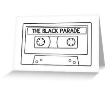 The Black Parade cassette tape Greeting Card