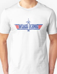 Custom Top Gun Style Style - Wing King Unisex T-Shirt
