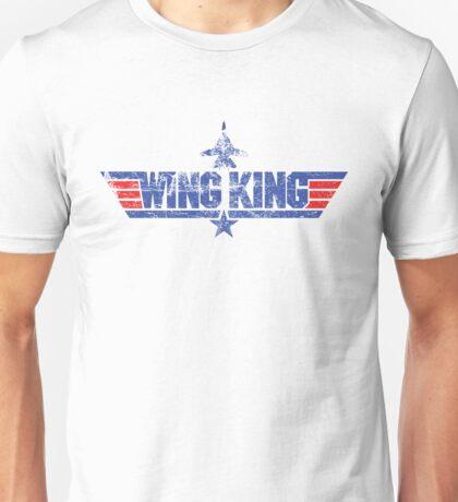 Custom Top Gun Style Style - Wing King Unisex T-Shirt