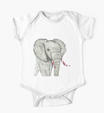 Day 15: Elephant One Piece - Short Sleeve