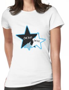 Okay? Okay Stars Womens Fitted T-Shirt