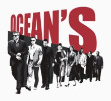 Ocean's Twelve T-Shirt by Axwel