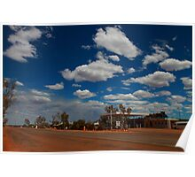 Billabong Roadhouse, North of Geraldton in the Shire of Shark Bay Poster