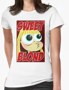 Sweet blond Womens Fitted T-Shirt