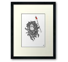 Which Hunt? Bug Framed Print