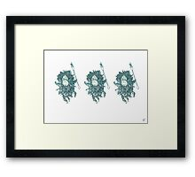 Which Hunt? Bug Army Framed Print