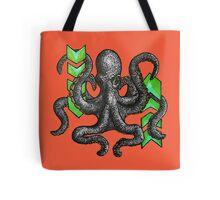 Chevron Octopode Tote Bag