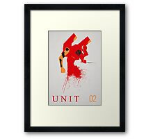 Unit 02 Framed Print