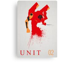 Unit 02 Canvas Print