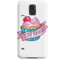 Retro 'Eat Cake' Tattoo Design Samsung Galaxy Case/Skin