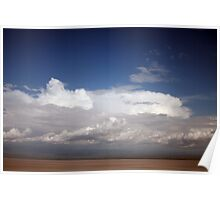 clouds in the Rift valley Poster