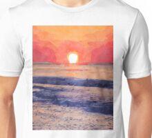 Morning Sun Over Atlantic Ocean Unisex T-Shirt