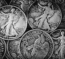 Walking Liberty Coins by Phil Perkins