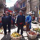 the street vendors by OTOFURU
