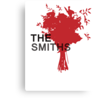 The Smiths Bouquet Canvas Print