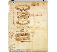 Invention by Leonardo da Vinci iPad Case/Skin
