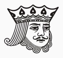 KoS —King's Face Sticker by thekingofspades