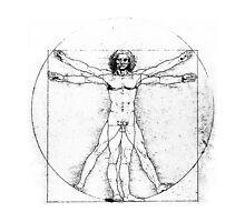 Vitruvian Man by Joyce Flendrie