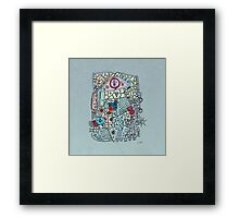 - eye - Framed Print