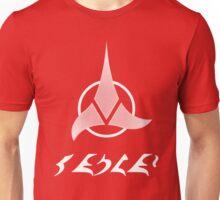 """Qapla' - """"Success"""" plus Klingon Insignia Unisex T-Shirt"""
