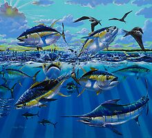 Yellowfin Run by Carey Chen