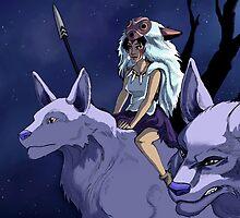 the wolf princess by kakuma555