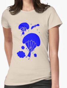 Cute Parachute Womens Fitted T-Shirt