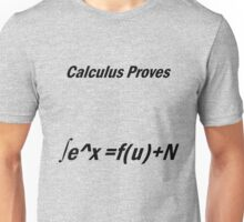 Calculus gets dirty Unisex T-Shirt